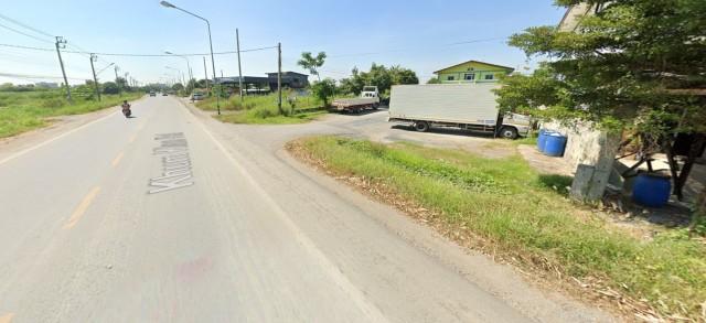 PL127L127 ขายที่ดิน ติดถนนคุ้มเกล้า พร้อมอาคารพานิชย์ 2 ชั้น  เนื้อที่ 355 ตารางวา ราคาถูก