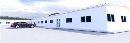 ขาย โกดัง รับสร้างโกดัง คลังสินค้า โรงงาน15 ออกแบบประเมินราคาฟรี สร้างทั่วประเทศ 1152 ตรม. 1 ไร่ .