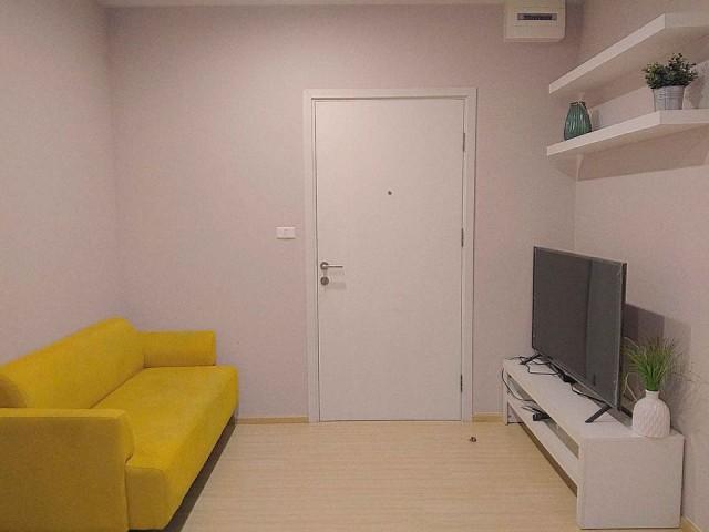ปล่อยเช่า Plum Condo Pinklao Station ขนาด 27 ตรม. 1 ห้องนอน 1 ห้องน้ำ ห้องใหม่ ชั้น 6 วิวสระ