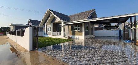 ขาย บ้านเดี่ยว บ้านหลังใหญ่ไม่ต้องดาว ขายต่ำกว่าราคาประเมิน ้บ้านสร้างเสร็จพร้อมเข้าอยู่ 120 ตรม. 75 ตร.วา ฟรีค่าโอนกรรมสิทธิ
