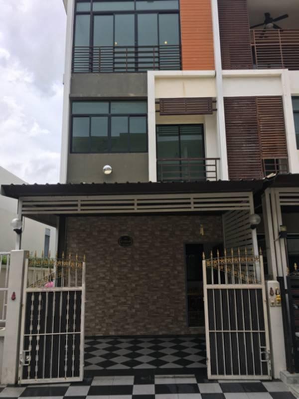 ให้เช่า-ขาย บ้านโครงการ six nature กัลปพฤกษ์ บ้านติดกับ club house ส่วนกลาง