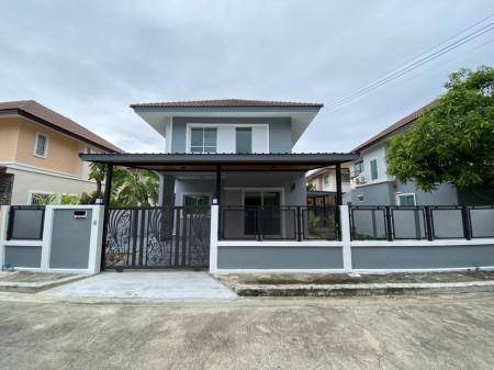 ขาย บ้านเดี่ยว บ้านรีโนเวทใหม่ต้นโครงการ สินทวีกรีวิลล์ 2 140 ตรม. 50 ตร.วา เหมือนได้บ้านใหม่
