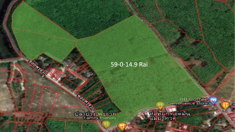 ขายที่ดิน เทพกระษัตรี ภูเก็ต 59-0-14.9 ไร่
