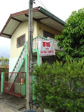 ขายถูกต่ำกว่าทุน อาคารบ้านเช่า 2 ชั้น เนื้อที่ 52 ตารางวา หมู่บ้านพรธิสาร 4 ใกล้ เทคโนฯ ธัญบุรี