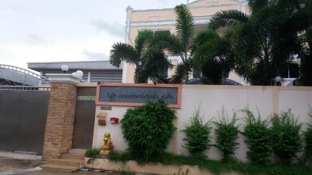 ให้เช่า อาคารสำนักงานพร้อมโกดังและบ้านพักอาศัย 3ชั้น ซอยเปาอินทร์8 ปากเกร็ด ติดถนนวงแหวนตะวันตก 342ตรว สภาพใหม่